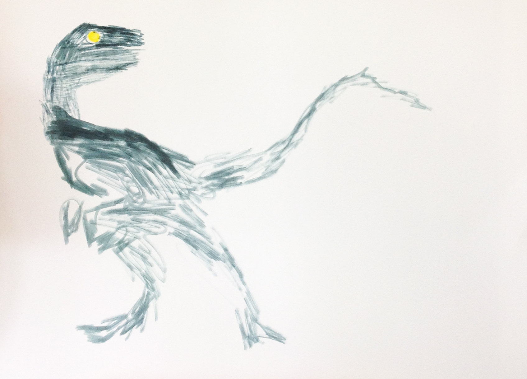 Velociraptor by Christopher Newman