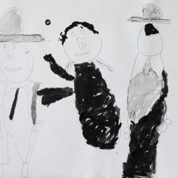 'Untitled (Cowboys)' by Gerard Gallagher