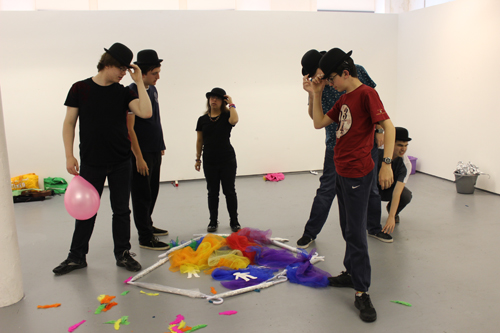 Summer workshops public performance