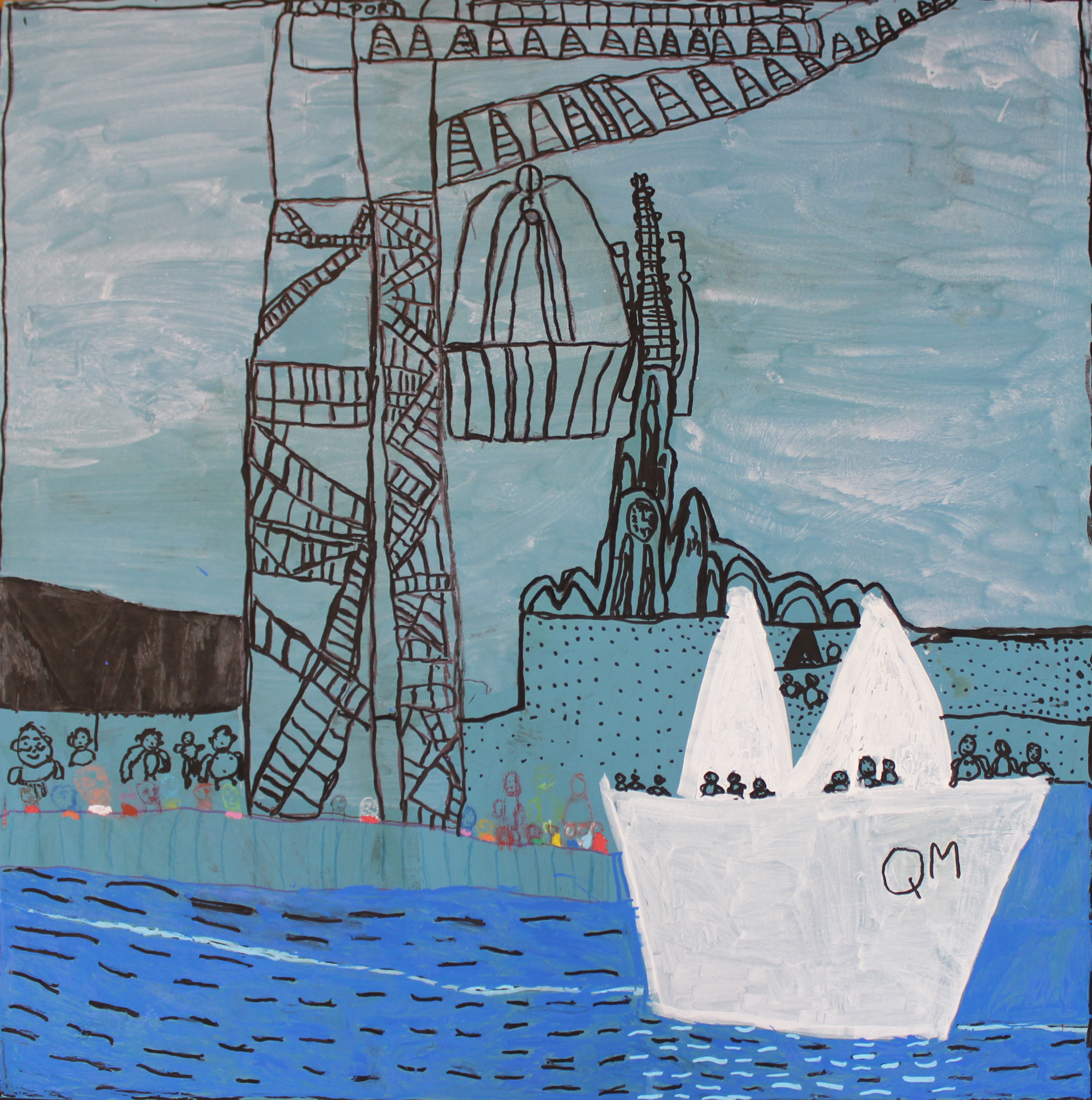Wyllie's Paper Boat' by Michael McMullen