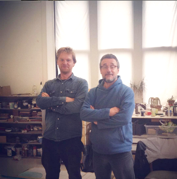 Collaborative partnership: Cameron Morgan & Charlie Hammond