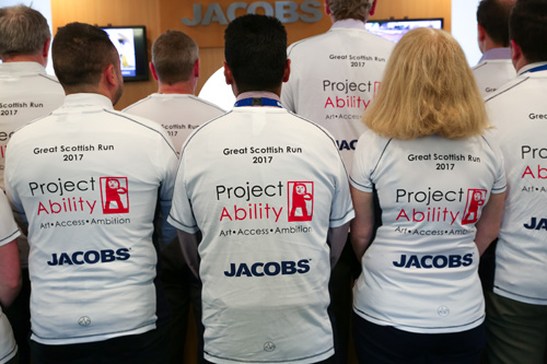 Team Jacobs: Just under £300 to go to reach £2500