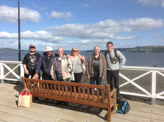 The Friday Group goes to Dunoon