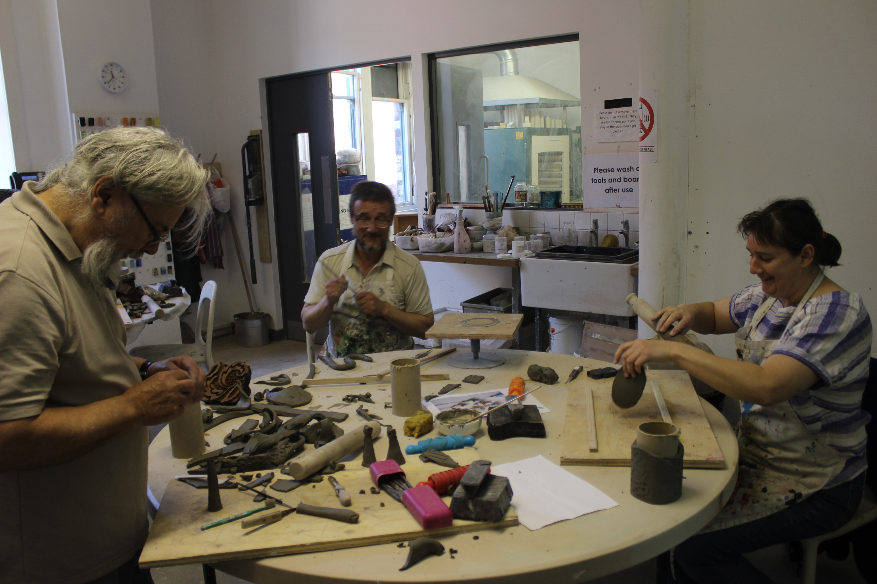 Ceramics Workshop with Tracy