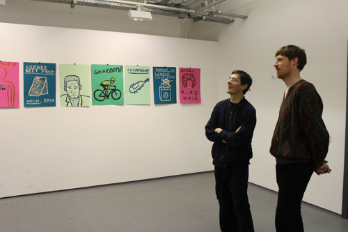 Artist talk by James Jimbo
