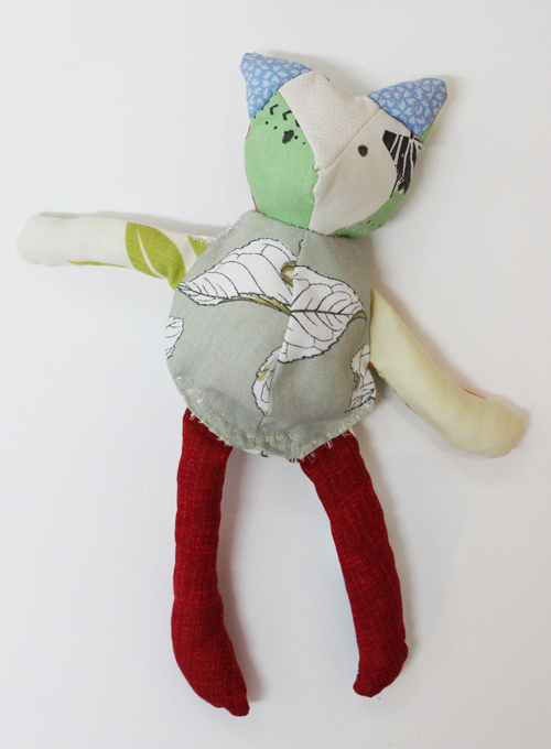 plush toy by Anna Campbell