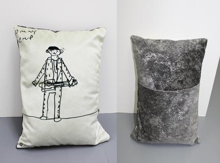ock n' Roll cushion by Tommy Kemp