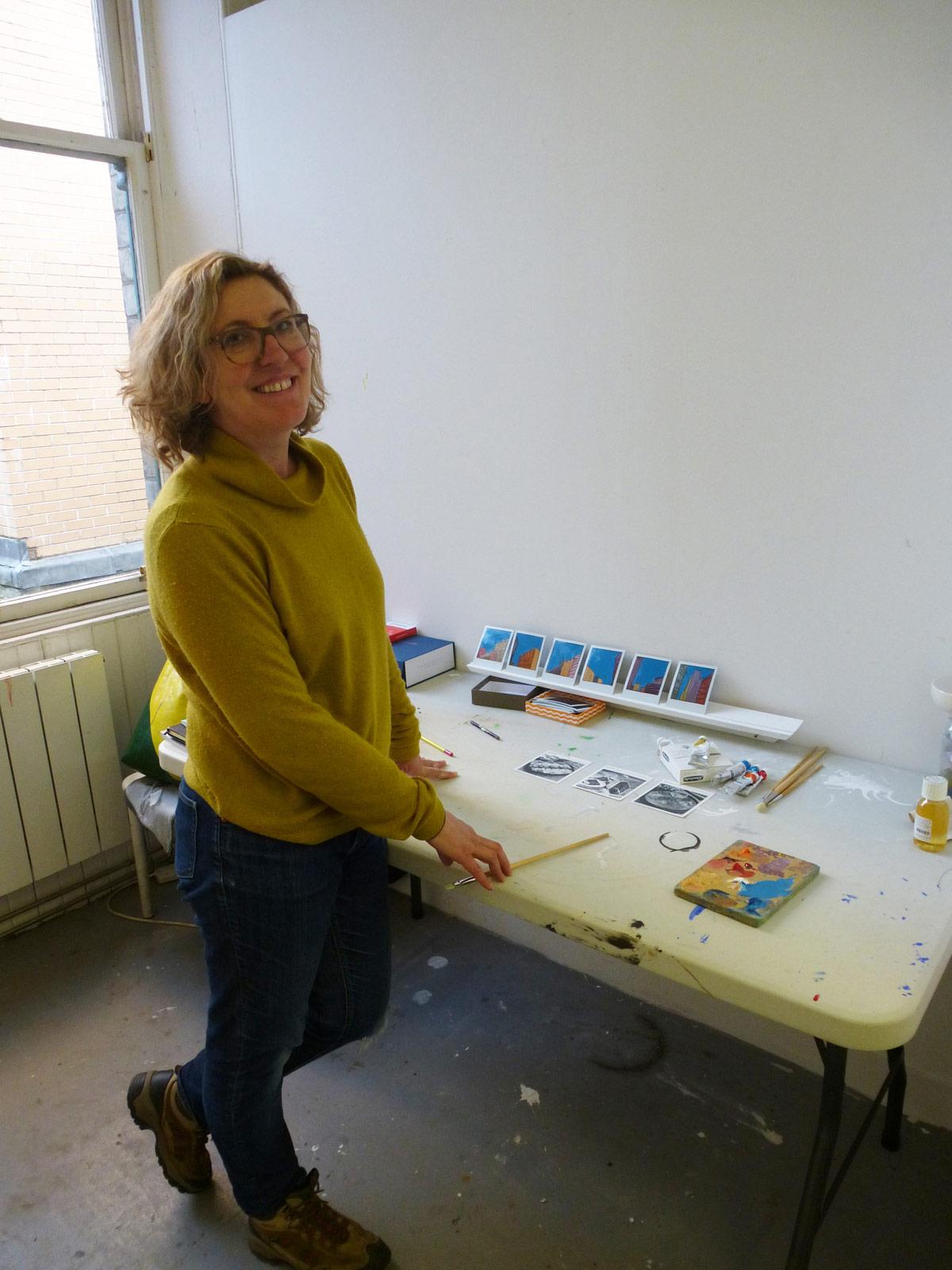 Artist in residence: Sarah Kudirka