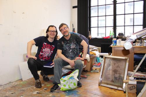 Cameron Morgan and Gregor Wright start their collaborative partnership