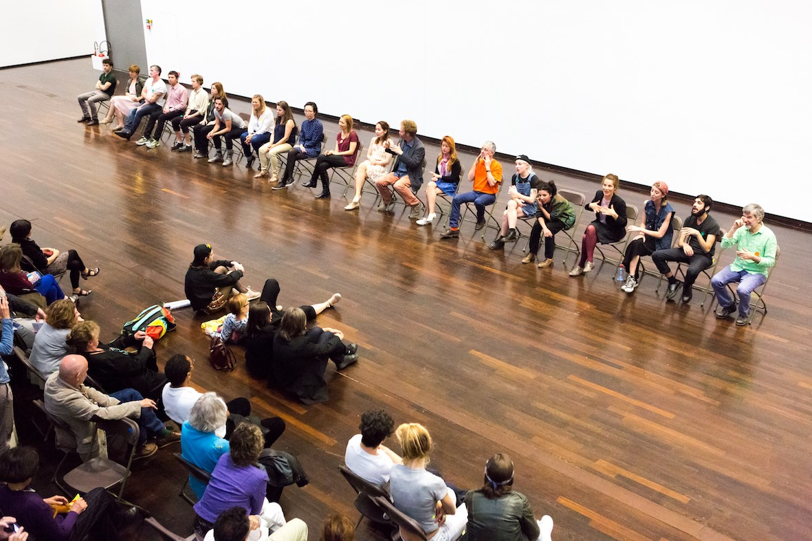 Call for Volunteers – Esther Ferrer performance
