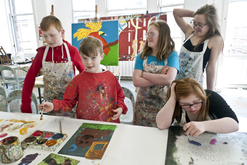 Down's Syndrome Scotland workshops