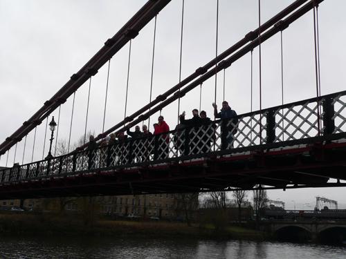 Walking Group Week 6: The Clyde Bridges