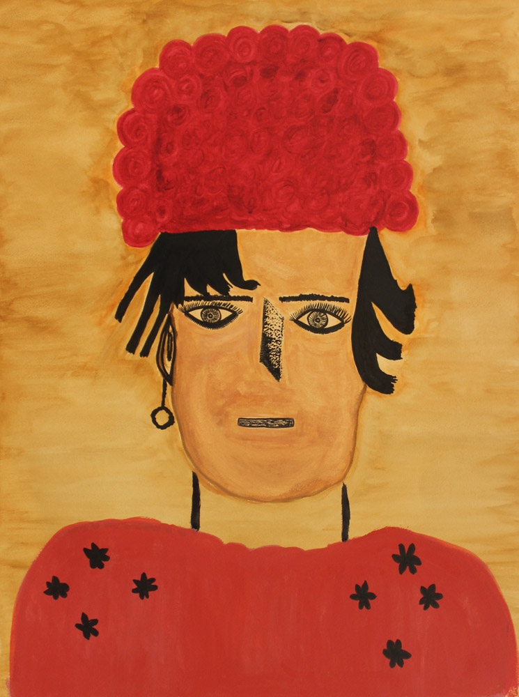 Portrait of the Artist's Mother' by Angela McLauchlin