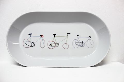 Fixie Bike Dish' by Scott Smith