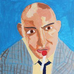 Portrait of Kojac by John Cocozza