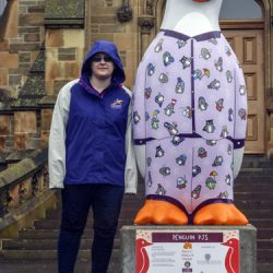 Dundee outing: Maggie's Penguin Parade
