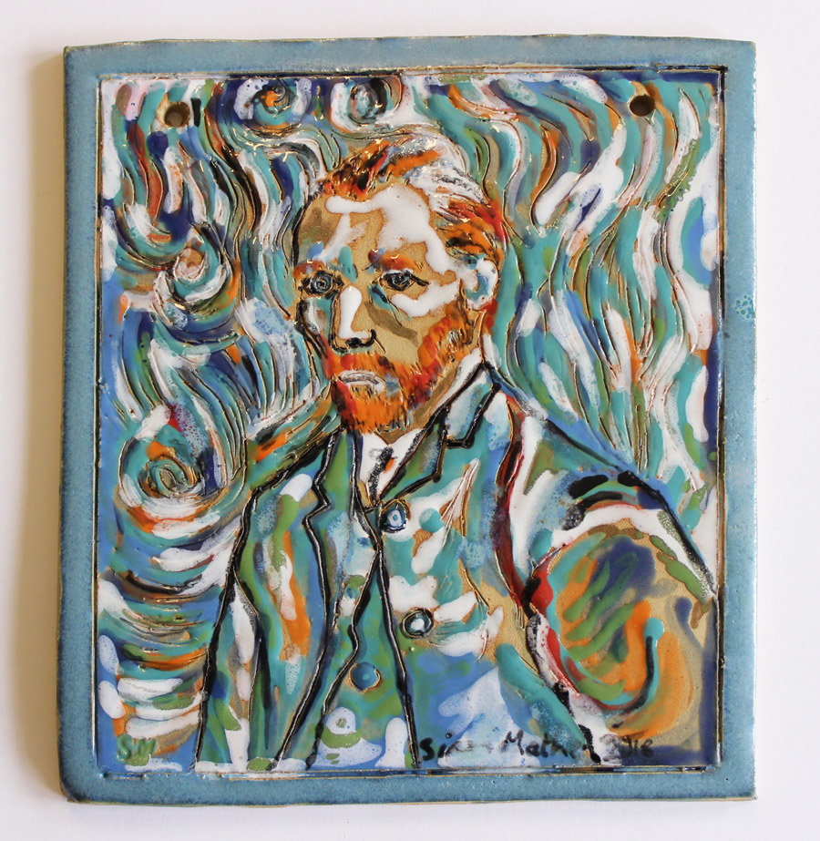 Van Gogh Self-Portrait (2018)