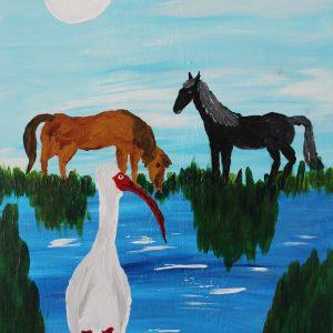 Edward Henry: Wild Mustangs