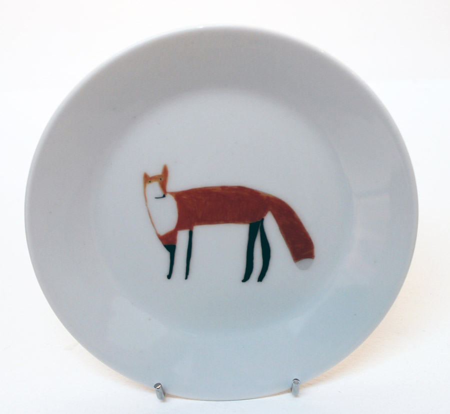 Scott Smith Fox Plate