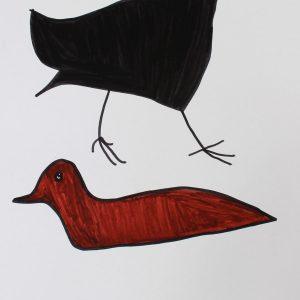 Scott Smith: Black and Brown Bird