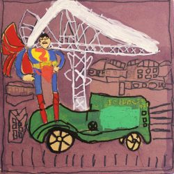 Michael McMullan - Superman and car