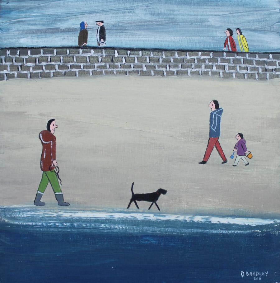 David Bradley: Beside the Sea