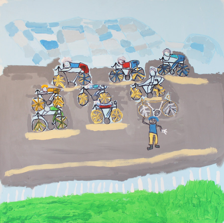 Steven Reilly: Bike Race