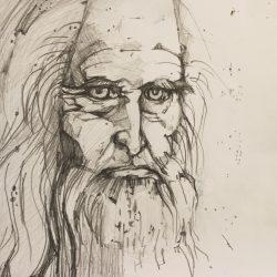 30x30 - Allan Oattes - Leonardo da Vinci