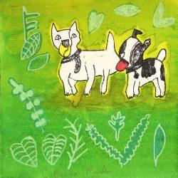 30x30 - Catherine Rankine - Untitled (Green)