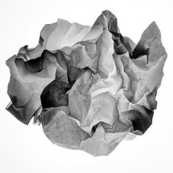 30x30 - Celine Mcilmunn - Crumpled I