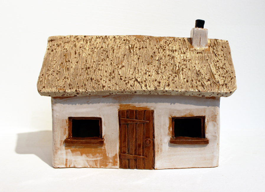 Croft with thatched roof