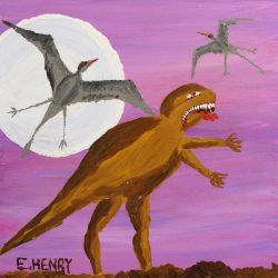 30x30 - Edward Henry - Jurassic World