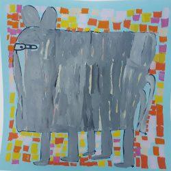 30x30 - Louise Robertson - Elephant