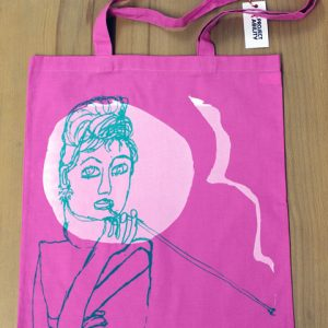 Tote Bag - Audrey Hepburn by Doreen Kay
