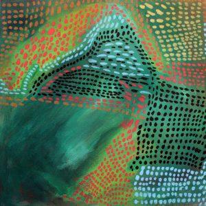 Abstract Canvas by Aspire artist Mhyra Thomas