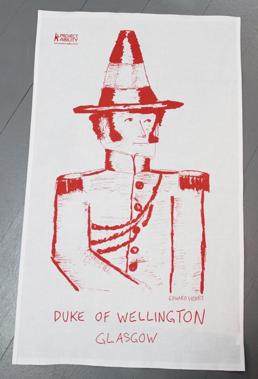 Duke of Wellington Tea Towel by Edward Henry