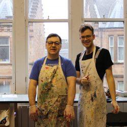 Louis Nye and Michael McMullan