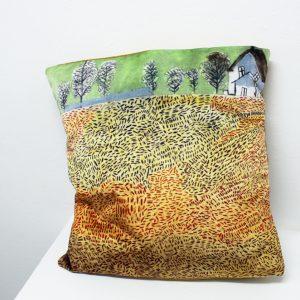 plush velvet cushion by Martin Sloss