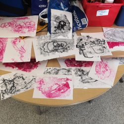 Printing exploration at Hampden School