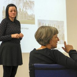 Dr Cheryl McGreachan gives a talk on Outsider Art