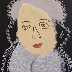 painting of Mary Queen of Scots by Lewis Scott
