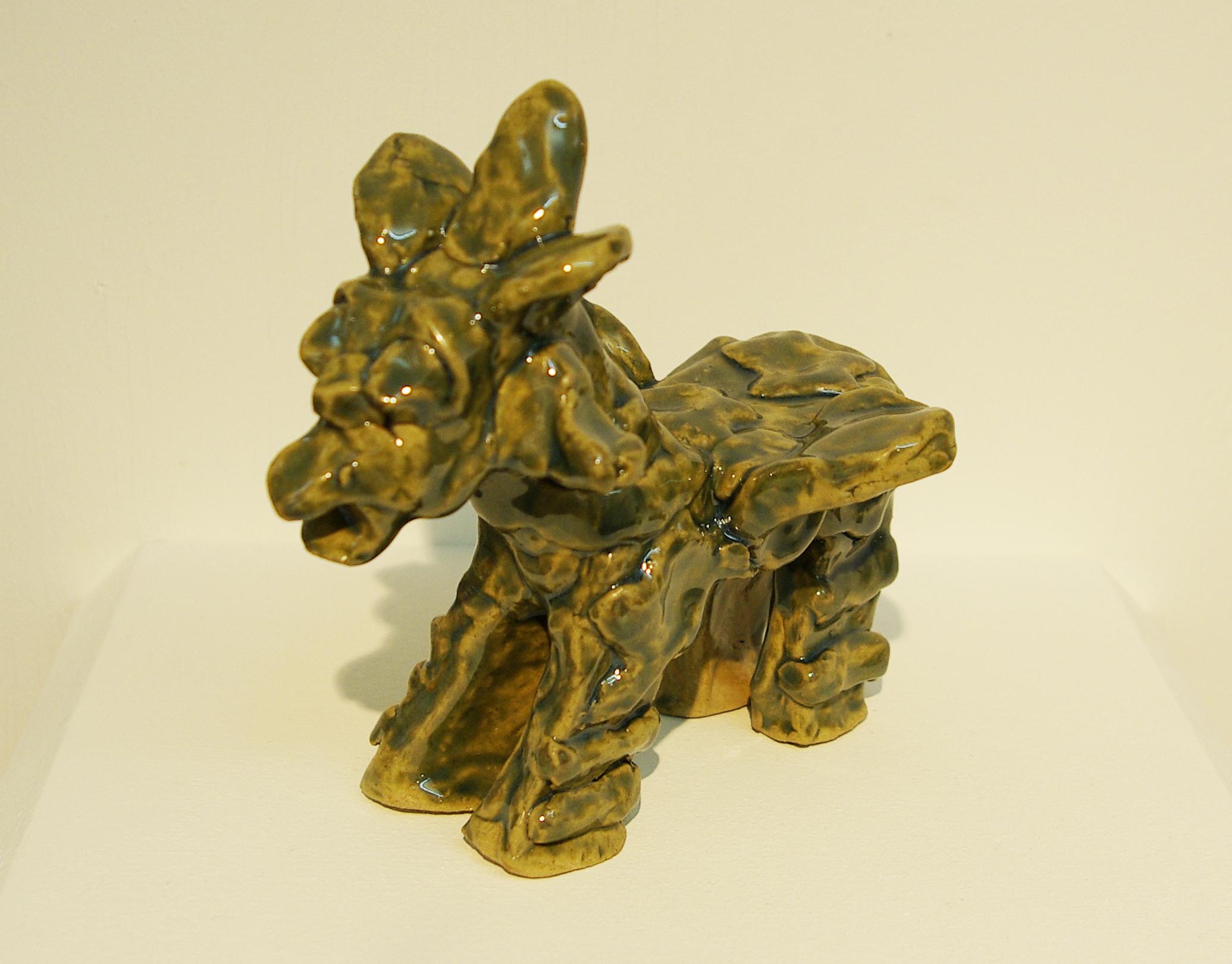 ceramic dragon by Kwok Kin Chan