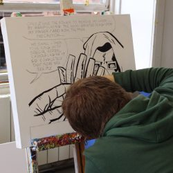 Drawing at project Ability