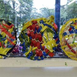 making artwork at Linn Park