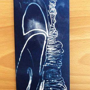 Cyanotype notebook