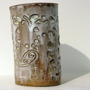 Ceramic vase made at Project Ability