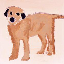 'Dog' painted by Obi Oguguo