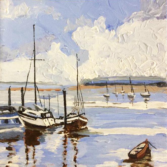 Scottish seascape painting by John McNaught