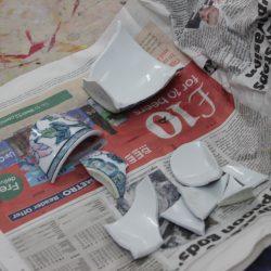 ceramic repair with gold