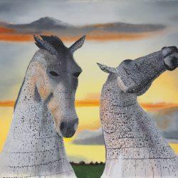 Kelpies by Peter Stewart